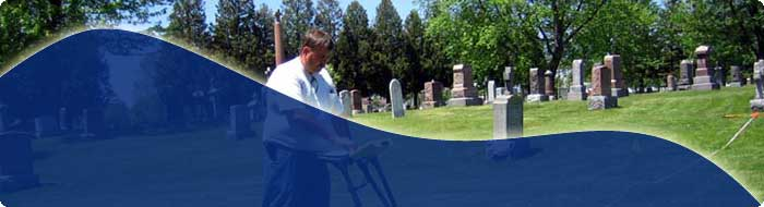 Burial Site Locating | Cemetery Mapping | Gravesite Locating Services